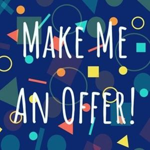 Reasonable offers accepted or fairly countered.